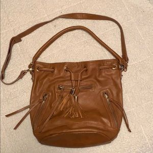 Light brown purse